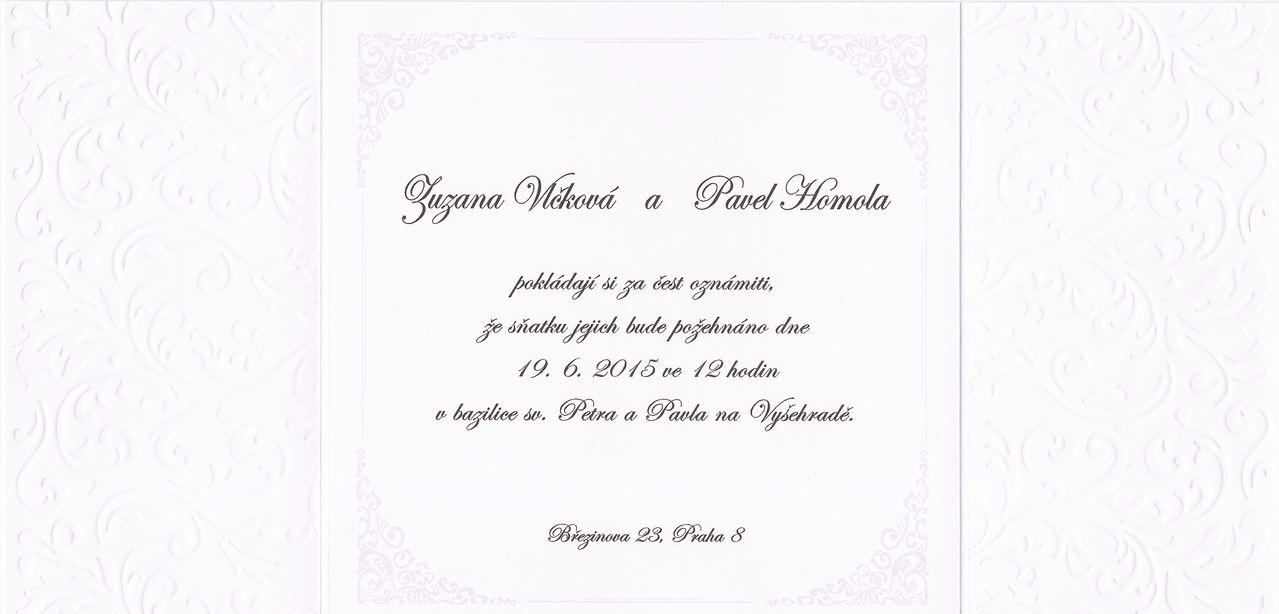 Pozvánka od Zuzky - 2. strana